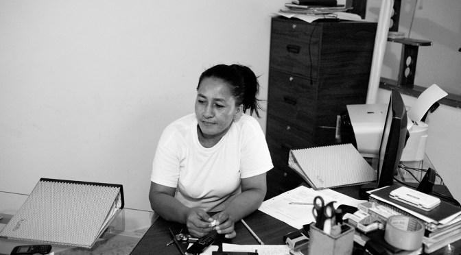 Lilia Peña, una berraca de defensora