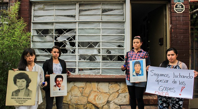 """""""No nos mueve la ideología, nos mueve el amor, un amor que se politiza, que adquiere consciencia social"""": Yanette Bautista"""