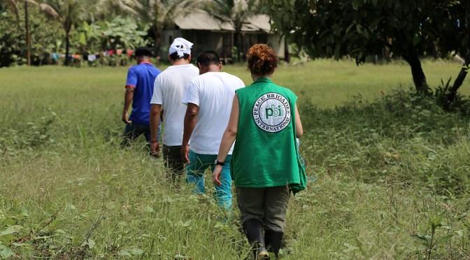 Caminando con las personas defensoras