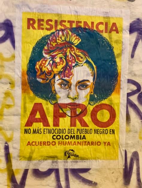 poster resistencia afro