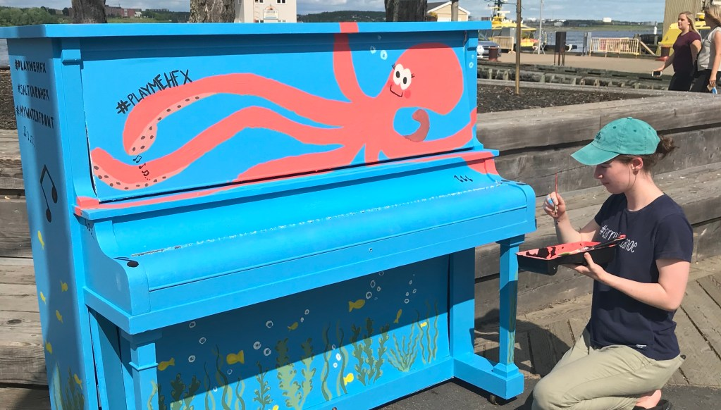 public piano in halifax