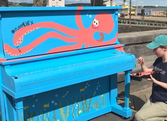 public piano in halifax
