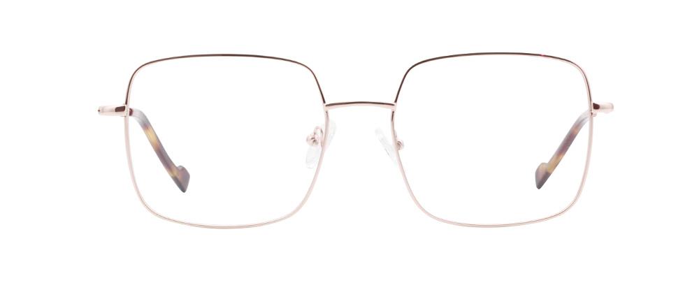 Milan bril in het roze goud