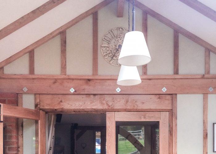 Inside Sunroom by Builders in Newbury