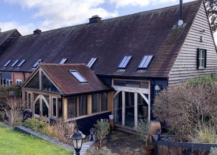 Oak Sunroom by Builders in Newbury