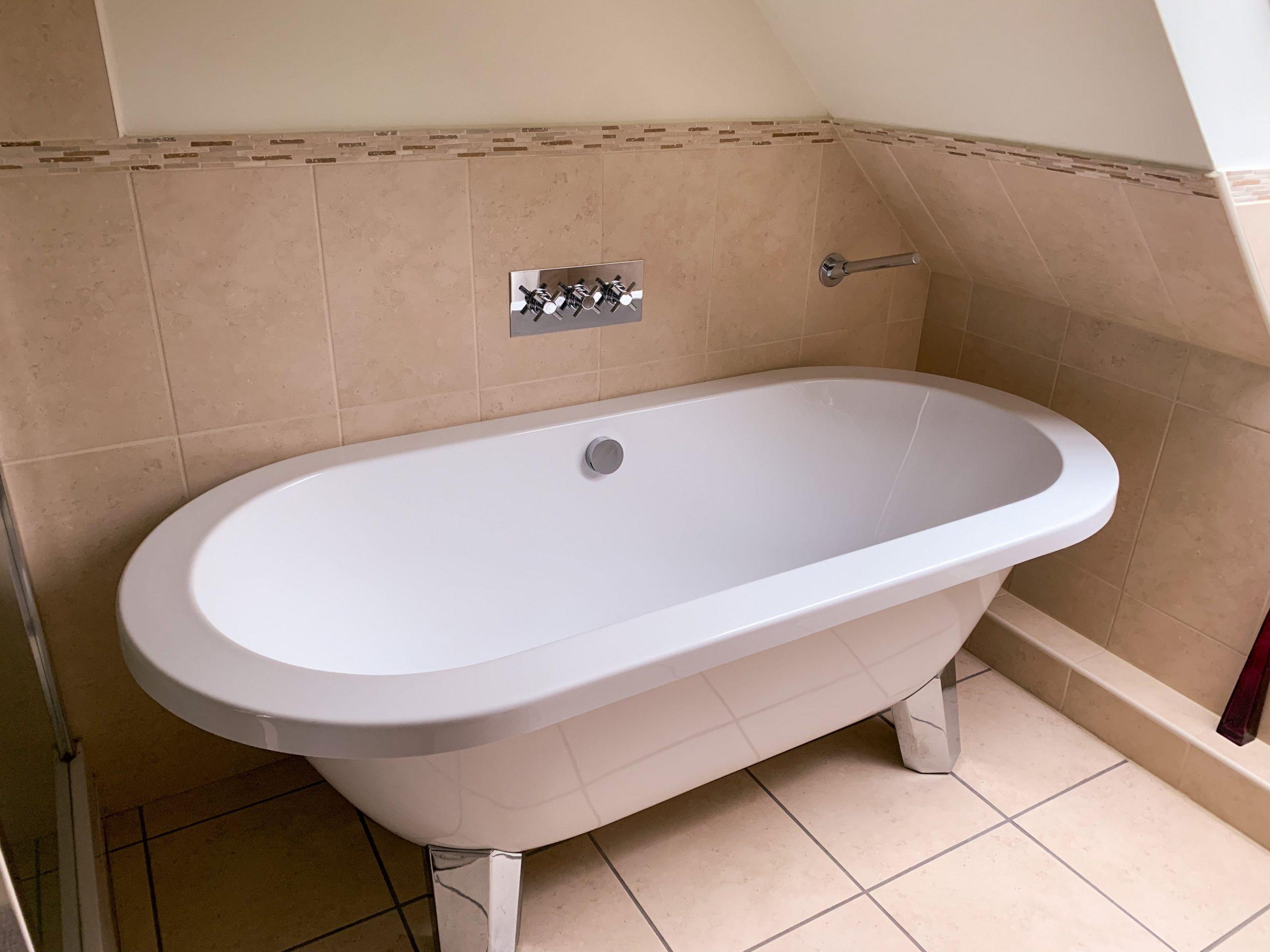 Bathroom by Builders in Newbury