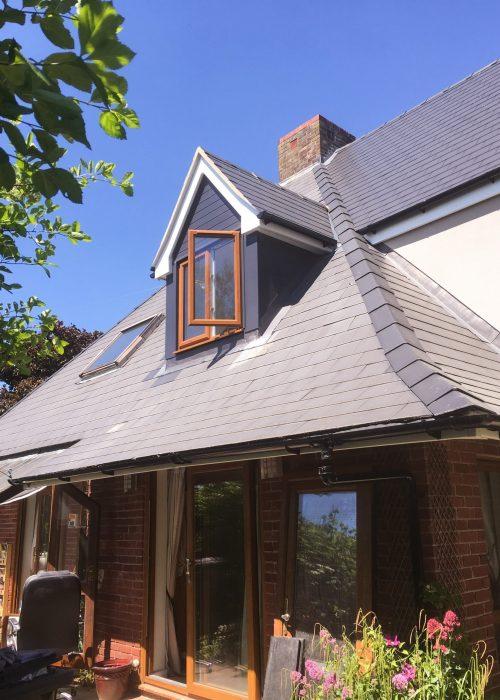 Slate Roof & Dormers by Builders in Newbury