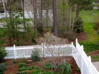 Garden View With Fresh Mulch-8
