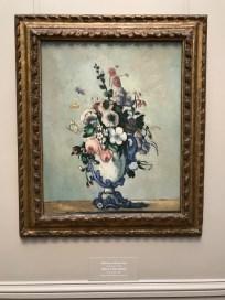 Paul Cézanne, Flowers in a Rococo Vase (ca. 1876)