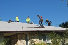 measuring roof layout