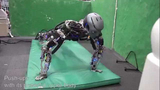Image for the Tweet beginning: #Robots Mimic Human Exercise by @SciRobotics