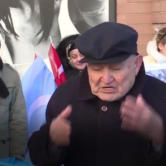 Image result for yeni şafak english #China treats us worse than animals, says weeping #Uyghur grandpa