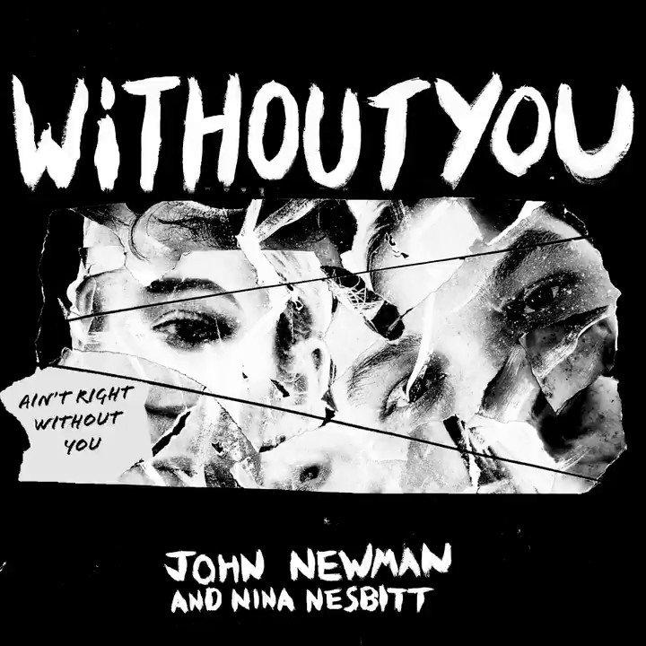Image result for john newman nina nesbitt without you artwork