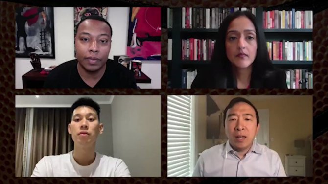 Asian-Americans are experiencing a rise in discrimination and violence.   Tune in to tonight's #NBATogether Virtual Roundtable at 7 PM ET on @NBA as Caron Butler (@realtuffjuice) unpacks this issue and actions we can take with Jeremy Lin (@JLin7), @vanitaguptaCR & @AndrewYang.