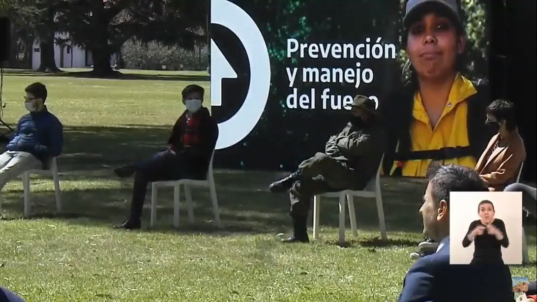 "Image for the Tweet beginning: 🎙""Hay 2 tipos de incendios:"