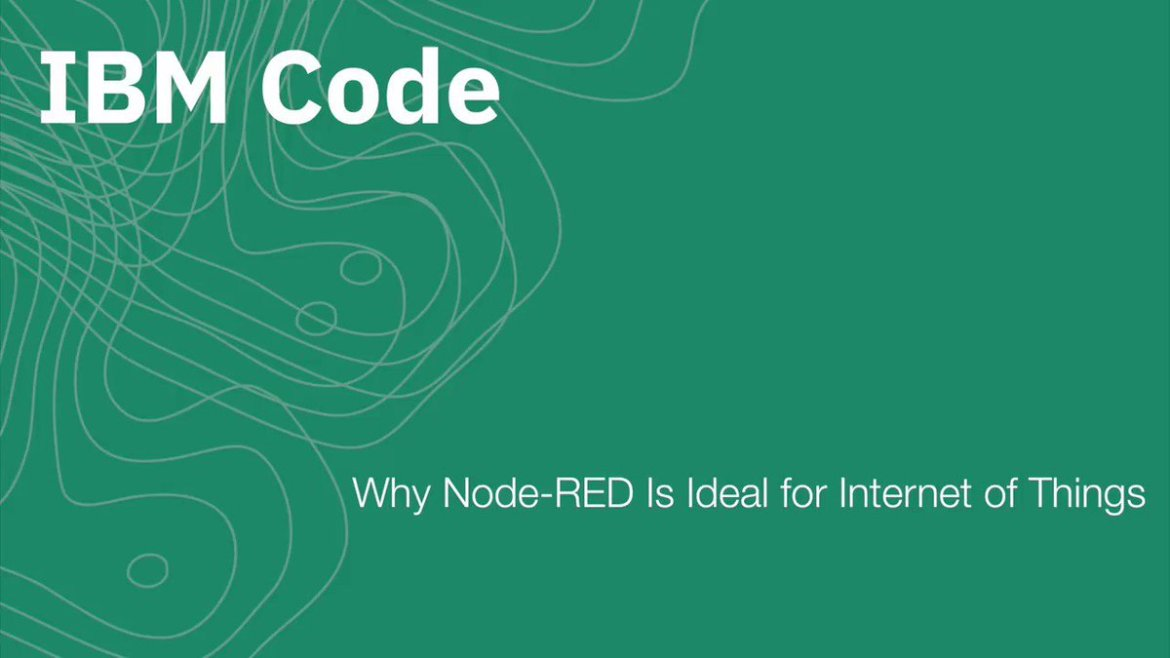 New Video: Why Node-RED is Ideal for IoT Applications.  #NodeSummit #nodejs @knolleary ~