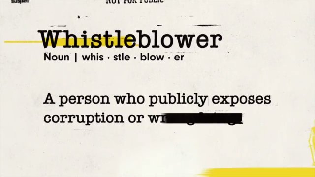 Image for the Tweet beginning: Don't miss #Whistleblower at 9/8c