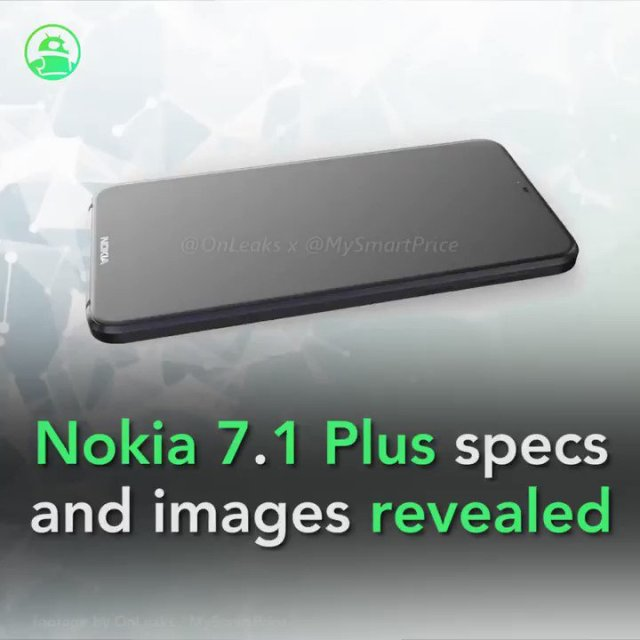 Nokia 7.1 Plus images, specs appear online ahead of reveal? Read more:...