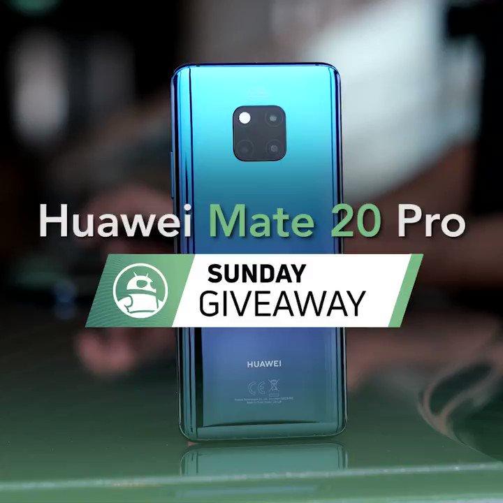 Image for the Tweet beginning: Huawei Mate 20 Pro international