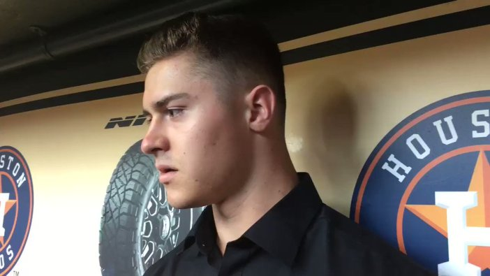 Colin Barber : Astros fourth pick Colin Barber | Brian McTaggart ...