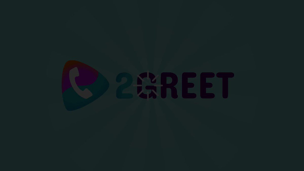Image for the Tweet beginning: 2Greet - a complementary solution