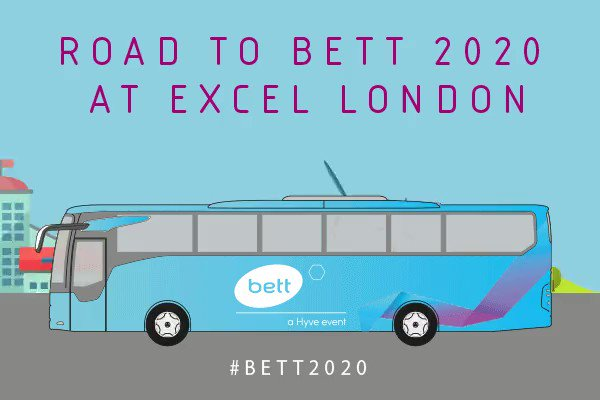 What a great way to get to the @Bett_show If you get on board ask the driver to drop you off at our stand SC60. Join us for an @LEGO_Education workshop! https://t.co/0oHamfje89 #LEGOconfidence