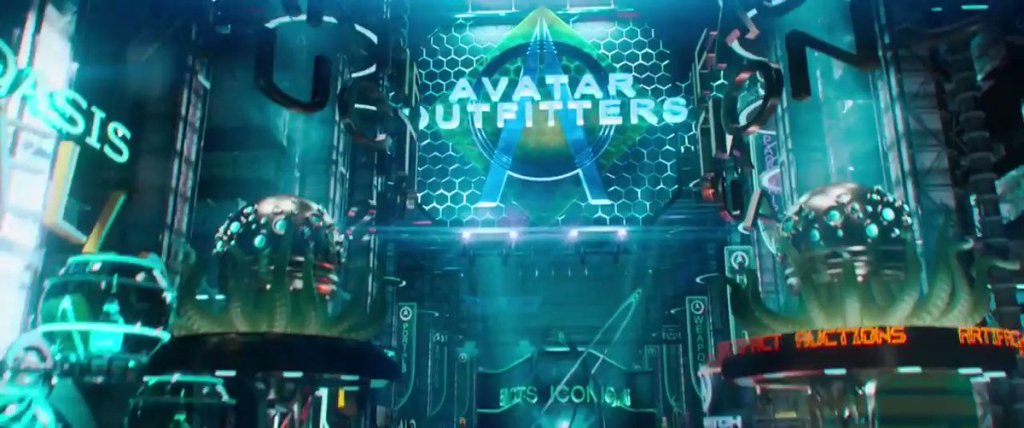 Have you seen the movie Ready Player One? @readyplayerone   Check out the scene ... 1
