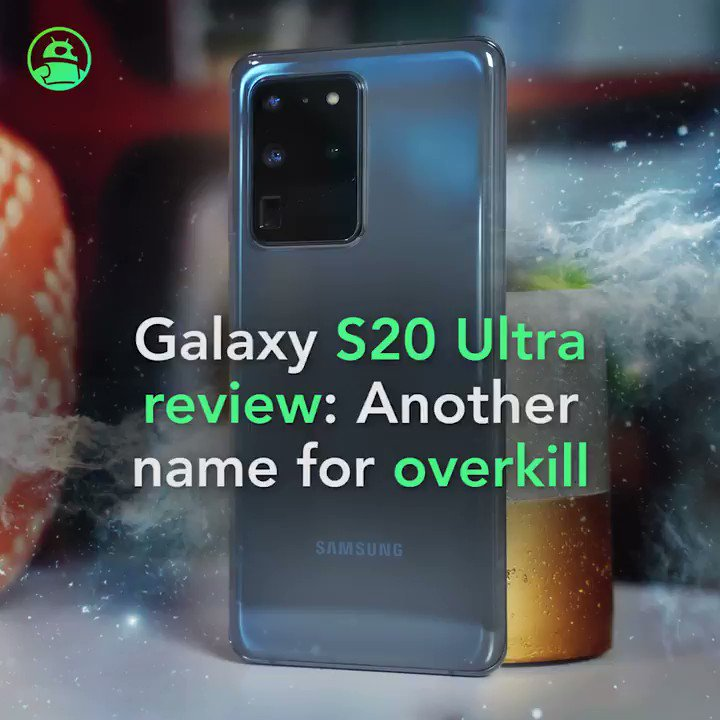 Image for the Tweet beginning: Samsung Galaxy S20 Ultra 5G