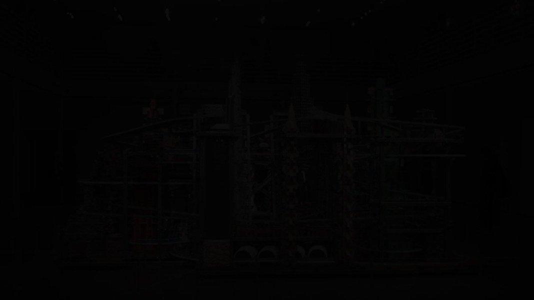 """Image for the Tweet beginning: Chris Burden's """"Metropolis II"""" has"""