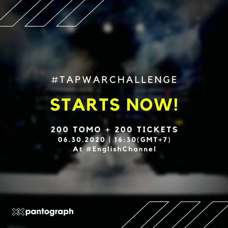 #TapwarChallenge starts now!    Total Prize is 200 $TOMO and 200 #TICKETS   Type... 10