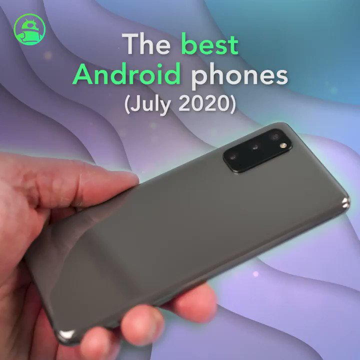 Image for the Tweet beginning: The best Android phones (July