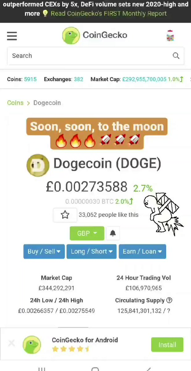 @nicotweets2 I have such $doge. Such wallet. Much wow. Moon Soon.  #doge   #oxt ... 2