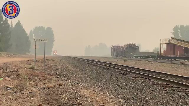 Of course it makes sense, but never thought of the role railroads and trains play in fighting wildfires. Thank you for your service!