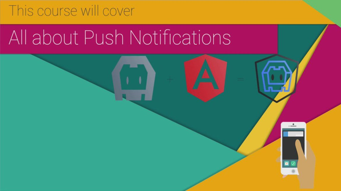 Push Notifications for your @Ionicframework App. Send #push from #wordpress #WP   #angularjs