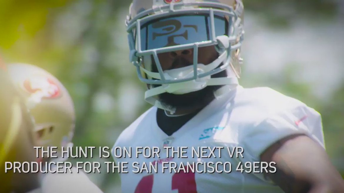 Announcing the Zeality #360Shootout @LevisStadium in search of the next @49ers #VR producer!