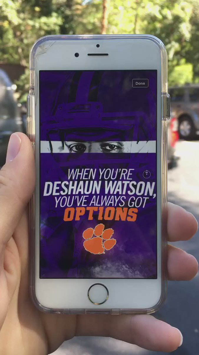 @CUJeffKallin continues to set the standard for content creation. #360 @ClemsonFB