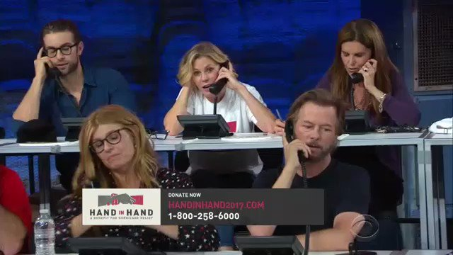 If you can pick *one* person to talk on the phone with at #HandInHand, who would it be?  ☎️