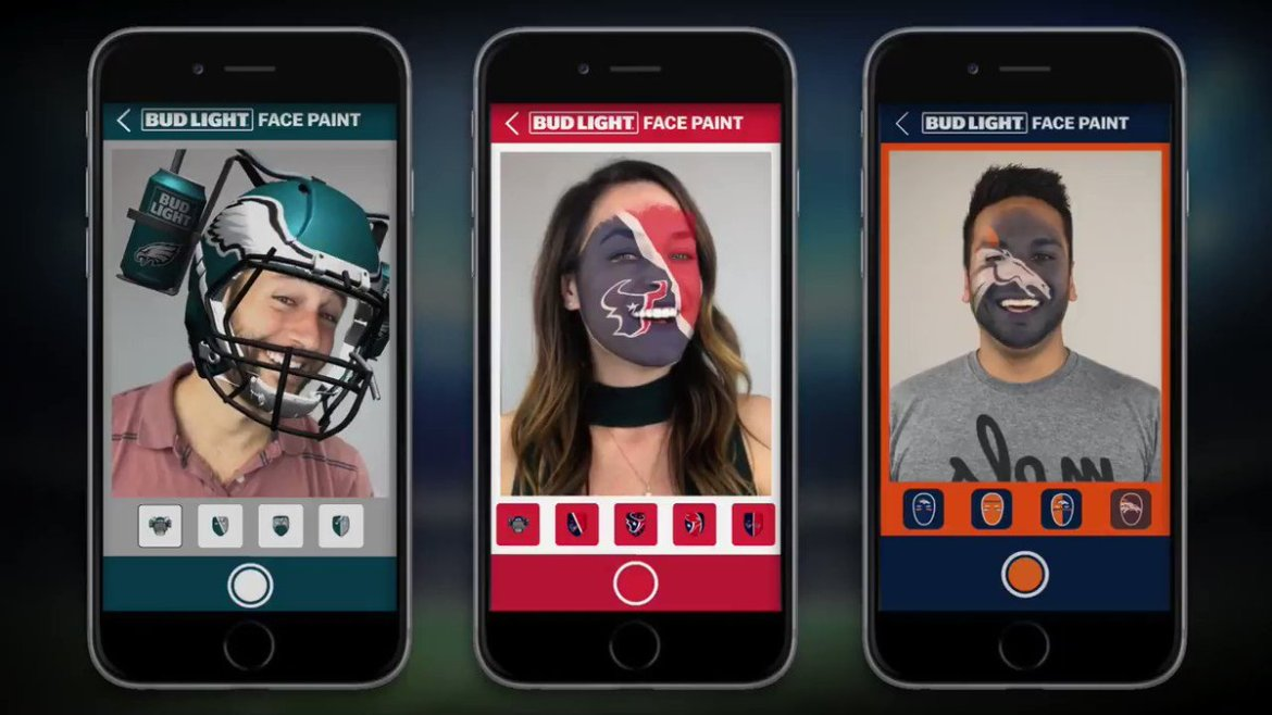 Nfl #Ar App @alicebonasio @VRScout    #AugmentedReality #Nfl #snapchat #indiedev #cool #Ai