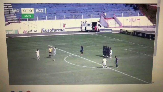 Botafogo vence o São Bento e faz história ao se classificar para a próxima fase da Copinha