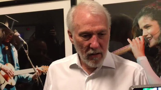 "Gregg Popovich talked about Sean Marks and the #Nets:  ""With each week, month, year that goes by, the Nets will be closer to being where every team wants to be, and that's competing in the playoffs."""