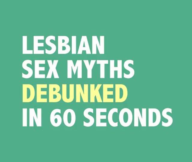 Comedian Dana Goldberg Dgcomedy Debunks The Myths About Lesbian Sex