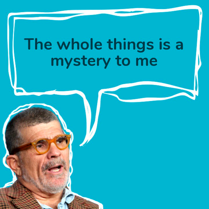 David Mamet on his writing process, with video courtesy of @SpareMin.   Check out the full episode here https://t.co/NUp3aPnX2A  Or on @ApplePodcasts https://t.co/2Yo5z4LKhM  And let us know if you like seeing little snippets like this.