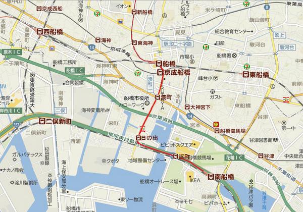 test ツイッターメディア - 東武野田線を南船橋まで延長。市街地は地下を走り、海岸付近では地上を走る。これにより市内南北が結ばれ、大型商業施設のある南船橋へのアクセスが大幅に向上。開発と発展が見込める。高速道付近にパークアンドライドを設置し、市街地への新ルートも作る。 https://t.co/vrxYGhgX