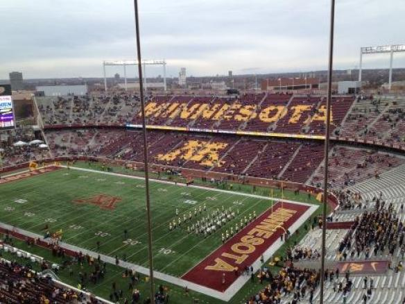 Press Box - Minnesota TCF Bank Stadium