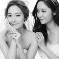 130107 f(Krystal) with SNSD's Jessica for STONEHENgE