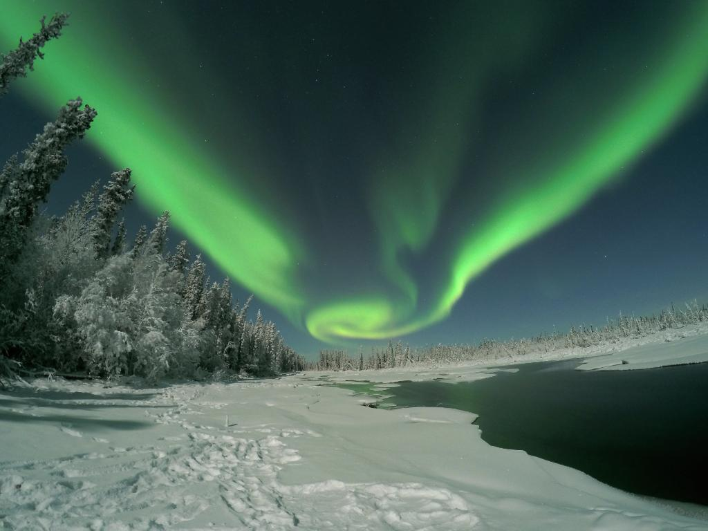 Northern Lights Gopro