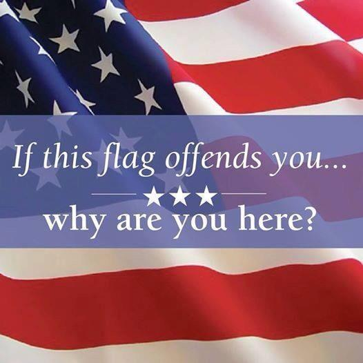 Image result for if you don't like america then get out