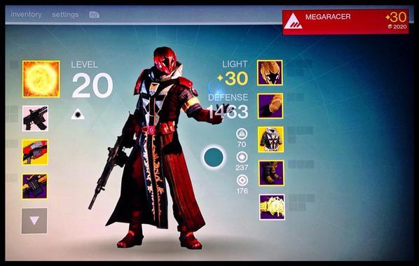 Kim Dotcom On Twitter Heres My Level 30 Destiny Warlock Ping MEGARACER On Xbox Live If