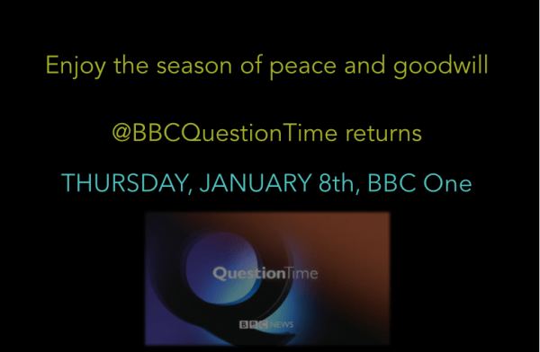 BBC Question Time (@bbcquestiontime) | Twitter