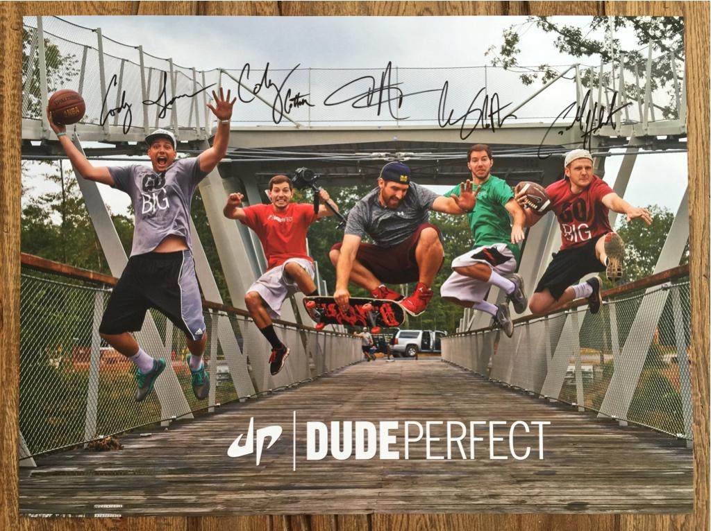 dude perfect on twitter breaking our